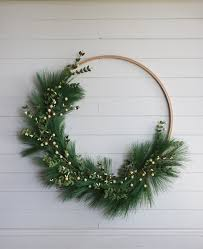 Today I am sharing a REALLY simple DIY Christmas wreath tutorial that does  not require much time (or money) but looks beautiful on your door or above  your ...