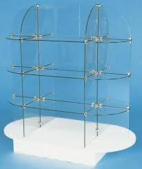 Glass Stands For Display Glass Oval Display Unit Glass Display Stand Store Display Glass 4