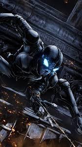 480x854 black spiderman 4k 2020 android