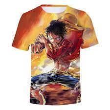 New T Shrits One Piece Asl Men Summer T Shirt Men 3d Short T Shirt Men Women Fashion One Piece 3d T Shirt Boys Tees Top