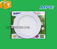 Đèn LED âm trần tròn MPE 9w ánh sáng trắng, vàng, trung tính loại tốt NÊN  MUA