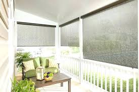 outdoor custom shades made roller porch blinds exterior privacy patio for outside hom