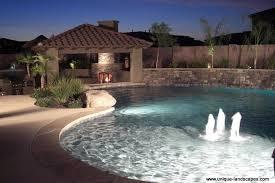 backyard pool bar. This Huge Lagoon-style Pool Showcases Waterfeatures, Ramadas, Fireplaces \u0026 A Swimup Bar Backyard