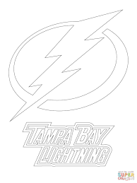 lightning coloring pages. Beautiful Coloring Click The Tampa Bay Lightning Logo Coloring Pages  To Coloring Pages G