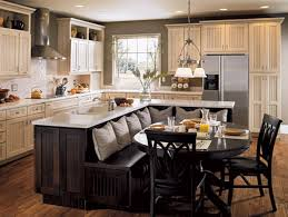 ... Compact Small Kitchen Island With Seating Decor Ideas Feats White  Marble Countertop : Astonishing Eat In ...