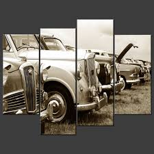 classic cars canvas wall art pictures prints larger sizes