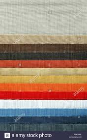 Fashion Colour Chart Decorative And Fashion Textile Cloth Color Chart Stock Photo