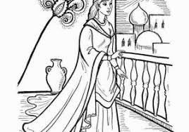 Queen Esther Coloring Pages Esther Coloring Pages Luxury Bible
