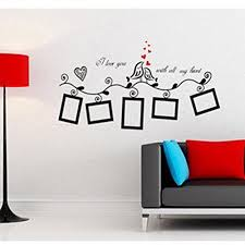 >doyime wall art stickers vinyl decals amazon uk kitchen home
