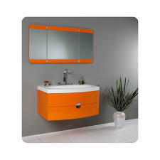 livello walnut modern bathroom