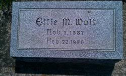 Effie Mae Harner Wolf (1887-1980) - Find A Grave Memorial