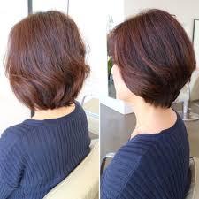クセ毛で広がる髪もまとまるショートボブ Daisukesekitacom