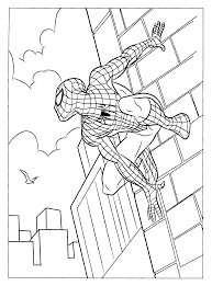 Spiderman Coloring Pages Printable free printable spiderman coloring pages for kids on spider man images coloring pages