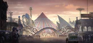 Dreamland Designs Dumbo Production Design Building Dreamland As A Tim Burton