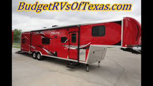 38ft 2016 work and play wpf 38 rls fifth wheel toy hauler ideal for fun and fort
