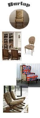 burlap furniture. burlap covered chairs multi fabric britain is great the art of doing stuff blog furniture