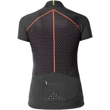 Mavic Sequence Graphic Womans Jersey Black