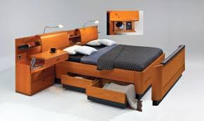 spacesaving furniture. TwinBed With Headboard Storage And Underbed Drawers Space Saving Furniture For Small Spaces Spacesaving