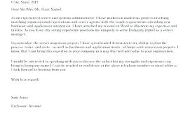 Examples Of Good Cover Letters For Resumes Examples For Cover Letter