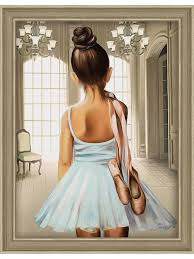 """Картина стразами """"Юная балерина"""" <b>Алмазная живопись</b> ..."""