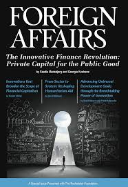 the innovative finance revolution ifmr blog the report features essays that lay out the context of innovative finance and focuses on innovative finance solutions technological innovation and policy