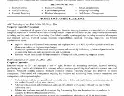 cv financial controller niceple financial controller resume also finance manager example of