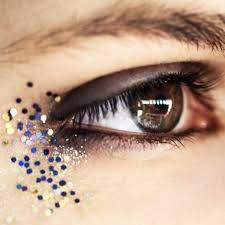 new york fashion week fall 2016 the biggest glitter makeup moments ranked glamour