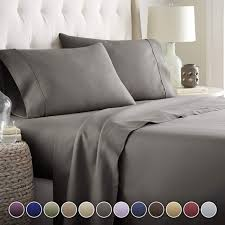 hotel luxury bed sheets set 1800 series platinum collection deep pocket wrinkle