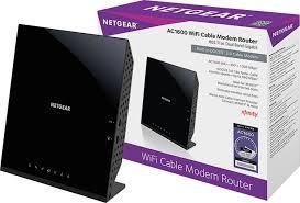 netgear dual band ac1600 router with 16 x 4 docsis 3 0 cable modem black c6250 100nas best