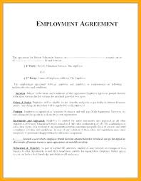 Temporary Employment Contract Template Free Temporary Employment Contract Template