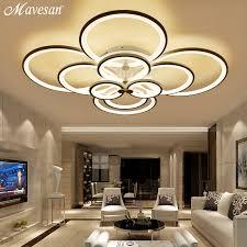 hallway lighting. remote control ceiling lights modern for living room bedroom hallway home light fixtures acrylic aluminum body lamp dimmer lighting