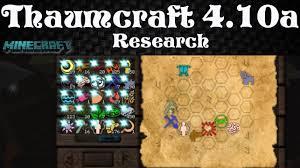 thaumcraft cheat sheet 1 7 10 thaumcraft 4 tutorial 7 research deutsch youtube