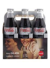 Coca Cola Light 235 Ml Shop Coca Cola Light Glass Bottles 290 Ml Pack Of 6 Online In Dubai Abu Dhabi And All Uae