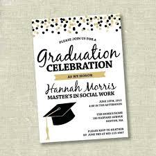 Elegant Graduation Announcements Sample Graduation Invitation Template Grupofive Co