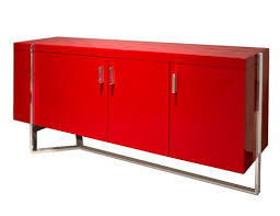 red lacquered furniture. Martelli Red Lacquered Credenza Furniture