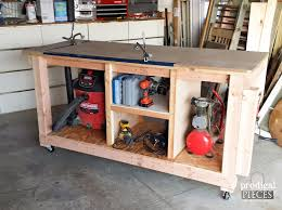 build a diy workbench assembly table in a weekend by prodigal pieces prodigalpieces