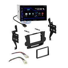 toyota highlander stereo parts accessories pioneer radio stereo double din dash kit harness for 2008 11 toyota highlander fits