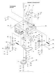 Bunton bobcat ryan 730326 power trailer wiring diagram 4 flat