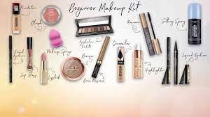 beginner makeup kit 15 essentials to