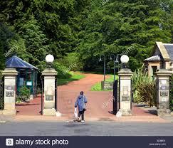 entrance gates royal botanic garden edinburgh scotland