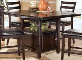 High Top Dining Table With Storage Small Black Counter Height Table Dining Room Counter Height Table
