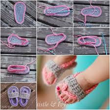 Crochet Baby Sandals Pattern Interesting Adorable Crochet Baby Sandals To DIY For Your Little One
