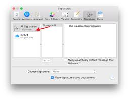 how to create online signature how to make an html signature in apple mail for el capitan os x 10 11