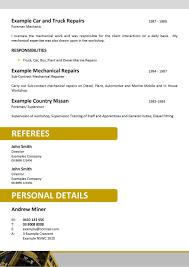 5 Successful Resume Examples Authorize Letter Mining Australia