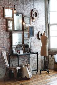 Atelier for Fashion Design - Accented w/ Mirrors in Rustic Loft w/  Beautiful Brick