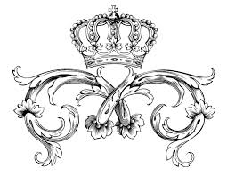 Small Picture Free coloring page coloring adult symbol royal crown by dl1on