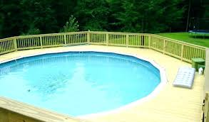 diy pool deck stairs round decks plans image titled build a around an above pools tips