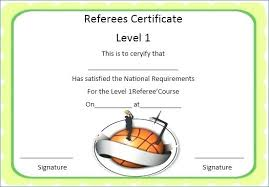 Basketball Certificate Template Mvp Award Templates