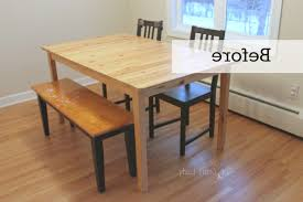 diy concrete dining table top and dining set makeover the crazy in diy kitchen tables ideas