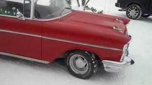 1957 Chevy - 210 2 Door Post - YouTube
